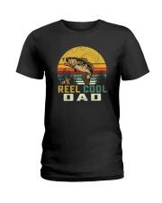 REEL COOL FISHING DADz Ladies T-Shirt thumbnail