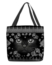 BLACK CATs All-over Tote back