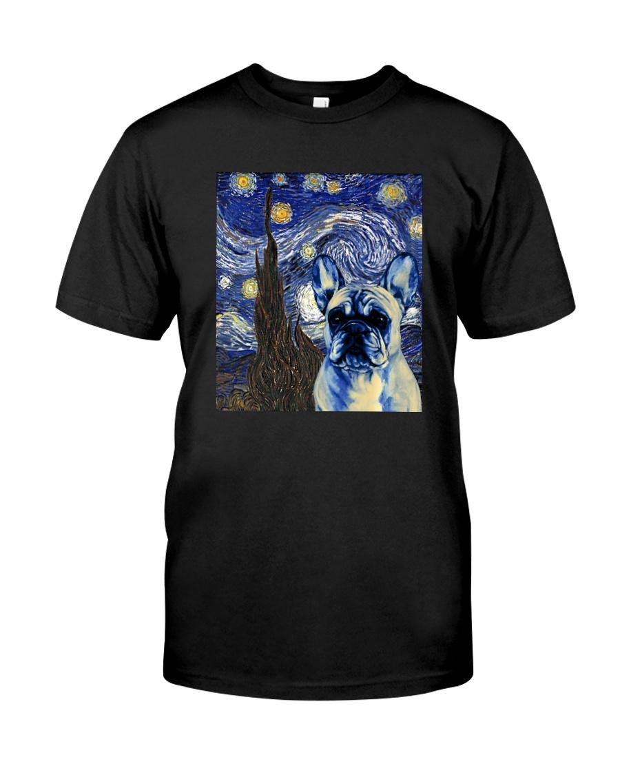 VAN GOGH FRENCH BULDOG Classic T-Shirt