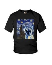 VAN GOGH FRENCH BULDOG Youth T-Shirt thumbnail