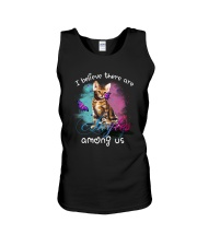I BELIEVE THERE ARE ANGELS AMONG US BENGAL CAT Unisex Tank thumbnail