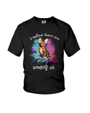 I BELIEVE THERE ARE ANGELS AMONG US BENGAL CAT Youth T-Shirt thumbnail