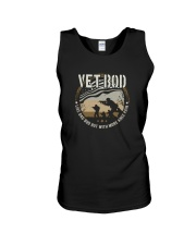 VET BOD LIKE DAD BOD BUT WITH MORE KNEE PAIN Unisex Tank thumbnail