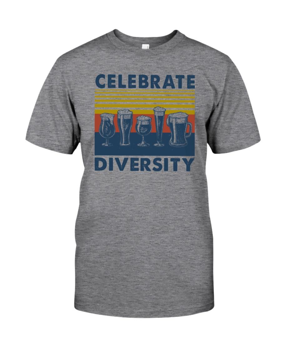 CELEBRATE DIVERSITY BEER Classic T-Shirt