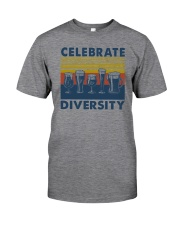 CELEBRATE DIVERSITY BEER Classic T-Shirt front