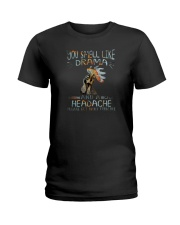YOU SMELL LIKE DRAMA CHICKEN Ladies T-Shirt thumbnail