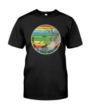 TAKE ME TO YOUR BEACHES Classic T-Shirt front