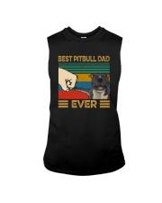 BEST PITBULL DAD EVER Sleeveless Tee thumbnail
