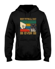 BEST PITBULL DAD EVER Hooded Sweatshirt thumbnail