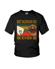 BEST Dachshund DAD EVER Youth T-Shirt thumbnail