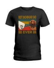 BEST Dachshund DAD EVER Ladies T-Shirt thumbnail
