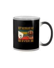 BEST Dachshund DAD EVER Color Changing Mug thumbnail