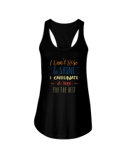 I CAFFEINATE AND HOPE FOR THE BEST Ladies Flowy Tank thumbnail