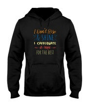 I CAFFEINATE AND HOPE FOR THE BEST Hooded Sweatshirt thumbnail