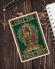 CHILL THE FUCK OUT Sticker - Single (Vertical) aos-sticker-single-vertical-lifestyle-front-05