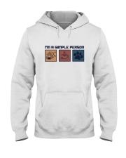 I'M A SIMPLE PERSON CHEMISTRY COFFEE DOG Hooded Sweatshirt thumbnail
