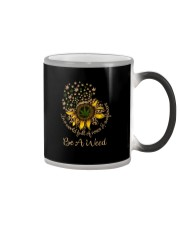 IN A WORLD FULL OF ROSES  BE A WEED LEOPARD Color Changing Mug thumbnail
