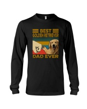 BEST GOLDEN RETRIEVER DAD EVER Long Sleeve Tee thumbnail