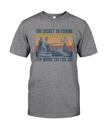 THE SECRET TO FISHING