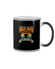 I SURVIVED THE GREAT TOILET PAPER Color Changing Mug thumbnail