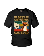 BEST Chihuahua DAD EVER s Youth T-Shirt thumbnail