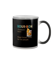 BOURBON NOUN Color Changing Mug tile