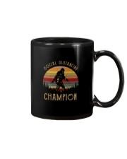VINTAGE FUNNY BIGFOOT SOCIAL DISTANCING CHAMPION Mug thumbnail