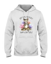 EFF YOU SEE KAY YOGA CAT Hooded Sweatshirt thumbnail