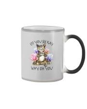 EFF YOU SEE KAY YOGA CAT Color Changing Mug thumbnail