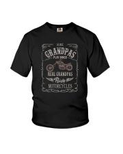 REAL GRANDPAS RIDE MOTORCYCLES Youth T-Shirt thumbnail