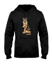 GERMAN SHEPHERD LOVE MOM Hooded Sweatshirt thumbnail