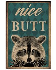 NICE BUTT RACCOON 16x24 Poster front