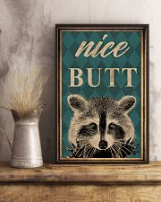 NICE BUTT RACCOON 16x24 Poster lifestyle-poster-3