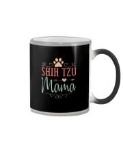 shih tzu mama Color Changing Mug thumbnail