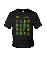 LIFE IS FULL OF IMPORTANT CHOICES Youth T-Shirt thumbnail