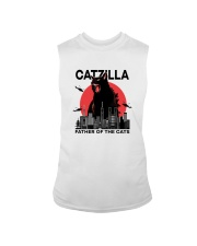CATZILLA FATHER OF THE CATS Sleeveless Tee thumbnail