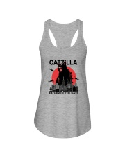 CATZILLA FATHER OF THE CATS Ladies Flowy Tank thumbnail