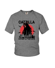 CATZILLA FATHER OF THE CATS Youth T-Shirt thumbnail