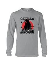 CATZILLA FATHER OF THE CATS Long Sleeve Tee thumbnail