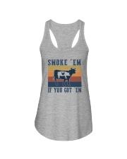 SMOKE 'EM IF YOU GOT 'EM Ladies Flowy Tank thumbnail