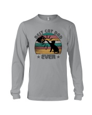 BEST CAT DAD EVER Long Sleeve Tee thumbnail