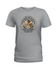 LOVE IS LOVE KINDNESS IS EVERYTHING Ladies T-Shirt thumbnail