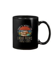 I READ BOOKS AND I KNOW THINGS Mug thumbnail