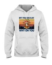 EFF YOU SEE KEY WHY OH YOU MUSHROOM Hooded Sweatshirt thumbnail