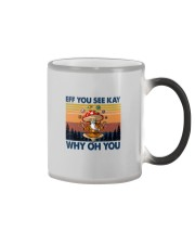 EFF YOU SEE KEY WHY OH YOU MUSHROOM Color Changing Mug thumbnail