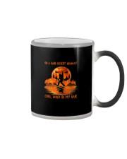 ON A DARK DESERT HIGHWAY BIGFOOT Color Changing Mug thumbnail