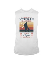 A VETERAN PAPA SI PRICELESS Sleeveless Tee thumbnail