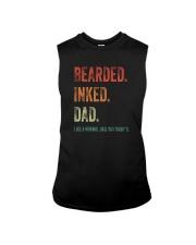BEARDED INKED DAD Sleeveless Tee thumbnail