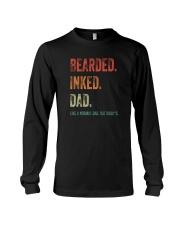 BEARDED INKED DAD Long Sleeve Tee thumbnail