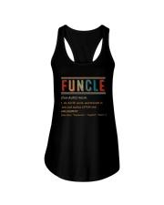 FUNCLE NOUN VINTAGE Ladies Flowy Tank thumbnail